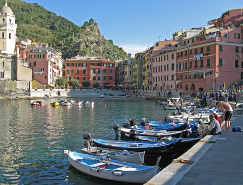 Transportation in Vernazza Italy